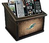 Fan Creations N0765-MIA Miami Dolphins Woodgrain Media Organizer, Multicolored