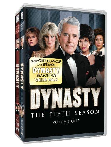 DVD : Dynasty: Season Five two pack [Full Frame] [8 Discs] (Full Frame, , 8 Disc)