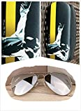 Men's Michael Jackson Sunglasses Adults Cosplay Sunglasses Costume Accessory (One Size, Glasses+Case2+ Cloth2)