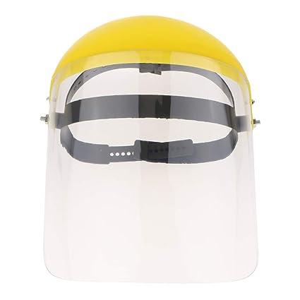 FLAMEER Máscara de Protección para Soldadura Casquillo Protector de Material PC - Transparente