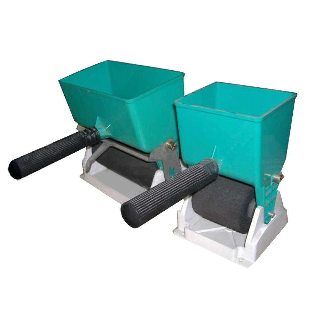 Ovovo Efficient Handheld Glue Applicator Roller Adjustable Trough Roller Glue Spreader Roller for Carpenter Woodworking (6inch)