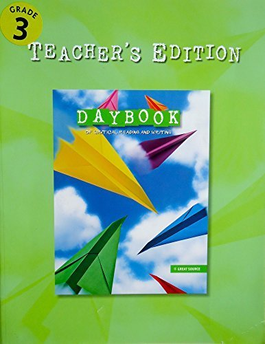Daybook of Critical Reading and Writing: Teacher's Edition Grade 7 2007 by GREAT SOURCE (2006-09-01) Paperback