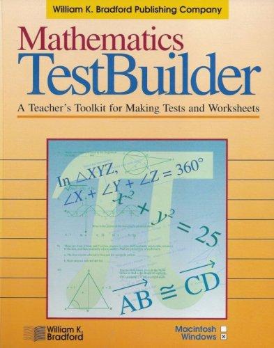 Amazon.com: Mathematics Testbuilder V3.6: a Teacher's Toolkit for ...