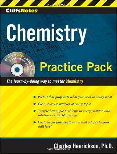Epub téléchargement gratuitCliffsNotes Chemistry Practice Pack B006W40GAC in French ePub