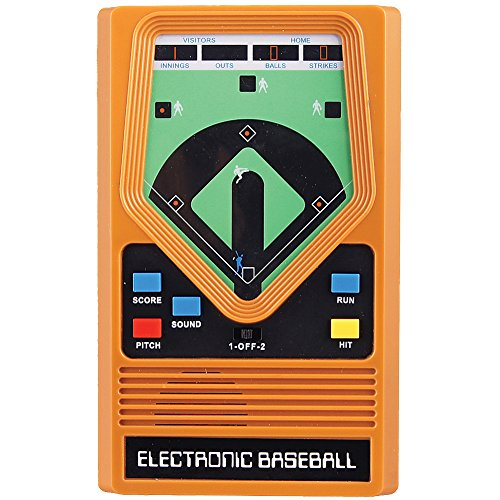 SCHYLLING ASSOCIATES INC Retro 70's Electronic Baseball Hand Held Game With Updated Graphics & Sound