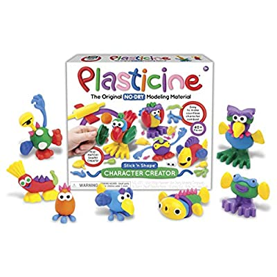 Plasticine Character Creator Toy: Toys & Games