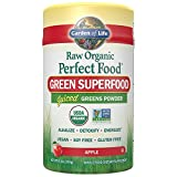 Garden of Life Vegan Green Superfood Powder – Raw Organic Perfect Whole Food Dietary Supplement, Apple, 8.3 oz Powder Review