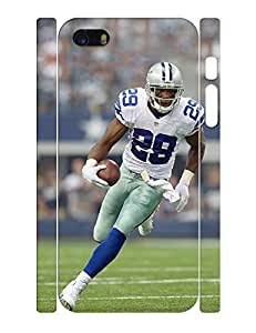 Terrific Series Cell Phone Case Strong Man Football Player Printed Hard Plastic Case Cover for Iphone 5 5s (XBQ-0137T) by lolosakes