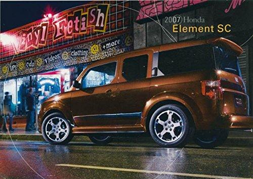 2007-honda-element-sc-original-factory-postcard