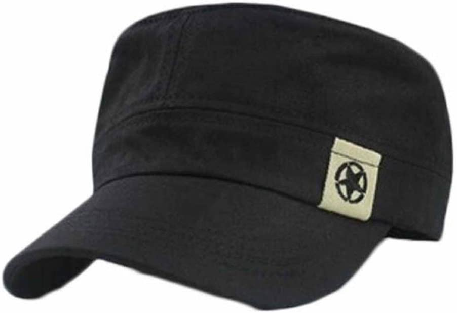 Malloom Gorra de béisbol de Bush moda unisex Techo Plano sombrero ...