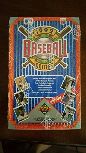 1992 Upper Deck Baseball Edition