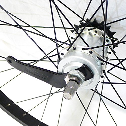Sturmey Archer S30 3 Speed 36h, Silver with Coaster Brake