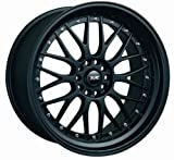 XXR 521 18 Flat Black Wheel / Rim 5x100 & 5x4.5 with a 35mm Offset and a 73.1 Hub Bore. Partnumber 52188102