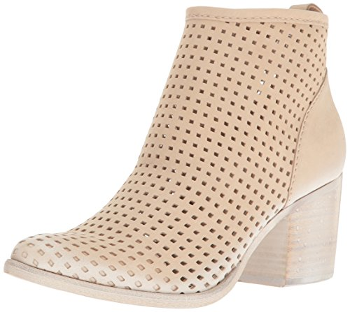Dolce Vita Women's Kenyon Ankle Bootie Sand Perforated Nubuck