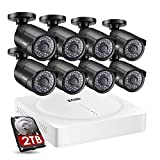 ZOSI 5MP Security Camera System,8 Channe...