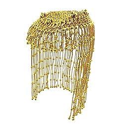 Gold Beaded Egyptian Headdress