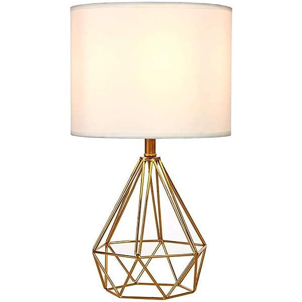 Wankd - Mini lámpara de mesa vintage, lámpara de mesa DIY ...