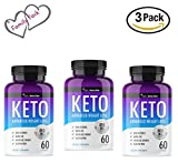 QFL Keto Trim Fast. Pure Keto Highest Potency Fast Action Diet Pills: Fat Burner, Carb Blocker + Appetite Suppressant -Made in US. (3)