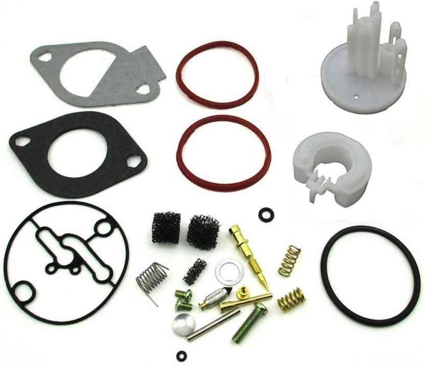 Lorjoyx Ma/ître Carburateur Kit de Rechange pour Briggs et Stratton Nikki Carb 796184 698787