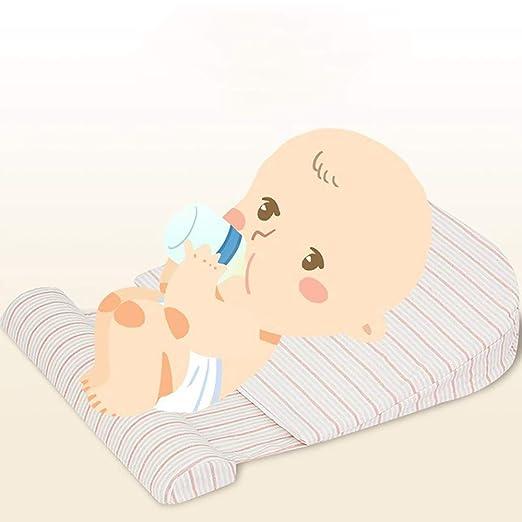 WNZL Almohada de cuña de Cuna para ayudas para bebés en el ...