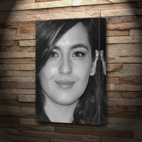 - Seasons Alanna Masterson - Canvas Print (A5 - Signed by The Artist) #js001