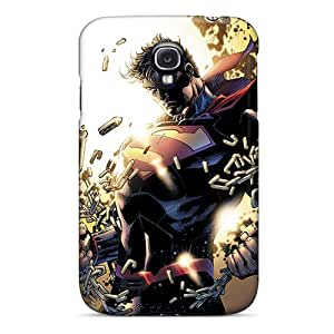 Defender Case With Nice Appearance (man Of Steel Superman) For Galaxy S4