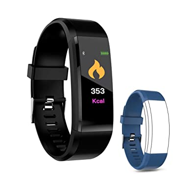 IULONEE Fitness Tracker Smart Watch, Activity Tracker IP67 Waterproof, Smart Bracelet Pedometer Watch with Heart Rate Blood Pressure Monitor Sleep ...