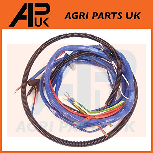 APUK Wire Wiring Harness Loom 4 Cylinder Diesel compatible with Fordson Major Tractor: