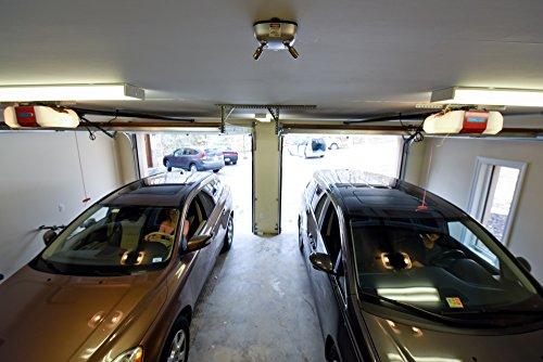 Car parking assist dual laser system sensor aid guide stop for Garage llacer miribel