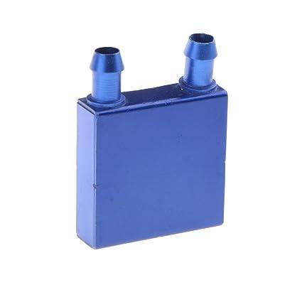 MagiDeal Bloque de Enfriamiento de Agua de Aluminio Para Disipador de Calor Radiador de Gráficos de