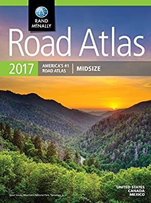 Rand McNally 2017 Midsize Road Atlas (Rand Mcnally Road Atlas Midsize)