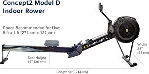 concept 2 model d rower workout