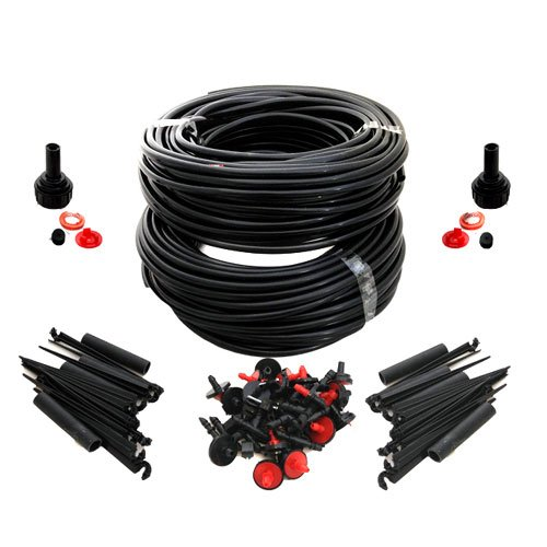 69 Metre Micro Irrigation Automatic Plant Watering Drip System