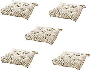 Ikea's MALINDA Chair cushion (5, Light Beige)