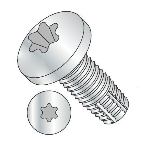 1/4-20 x 3 1/2'' Type F Thread Cutting Screws/Six-Lobe (Torx) / Pan Head/Steel/Zinc (Carton: 500 pcs) by Newport Fasteners
