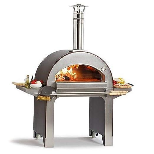 ALFA REFRATTARI Horno de leña 4 Pizzas: Amazon.es: Jardín