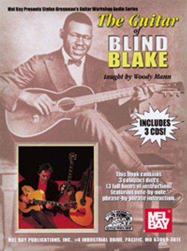 La Guitarra de ciegos Blake Enseña Por Woody Mann - Partituras, CD ...