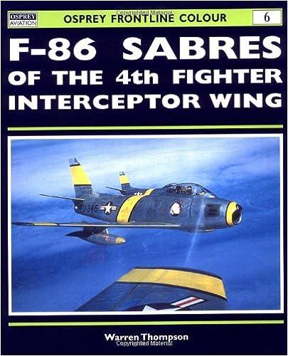 Tekstbog gratis pdf download F-86 Sabres of the 4th Fighter Interceptor Wing (Frontline Colour) in Danish PDF RTF by Warren Thompson