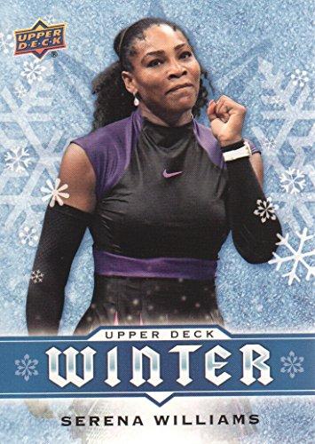 (2017-18 Upper Deck Winter Trading Card #W8 Serena Williams Tennis)