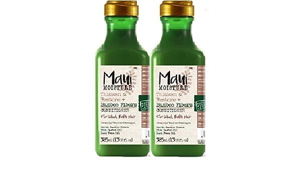 Acondicionador Maui de humedad, grueso y restaurante, 385 ml (2 unidades): Amazon.es: Salud y cuidado personal
