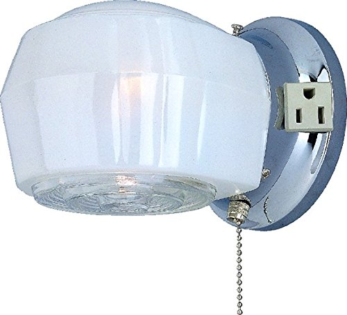 Outdoor Porch Light With Electrical Outlet in US - 5