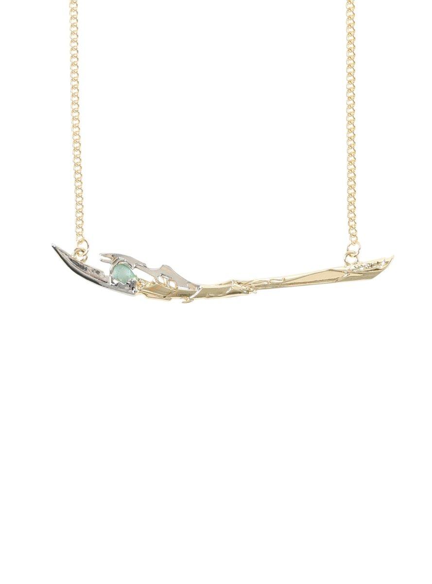 Marvel Avengers Loki Scepter Necklace