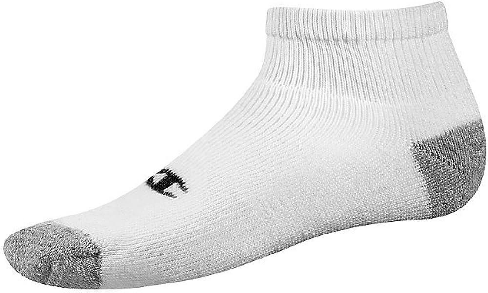 Champion Double Dry Performance Men's Quarter Socks 6-Pack