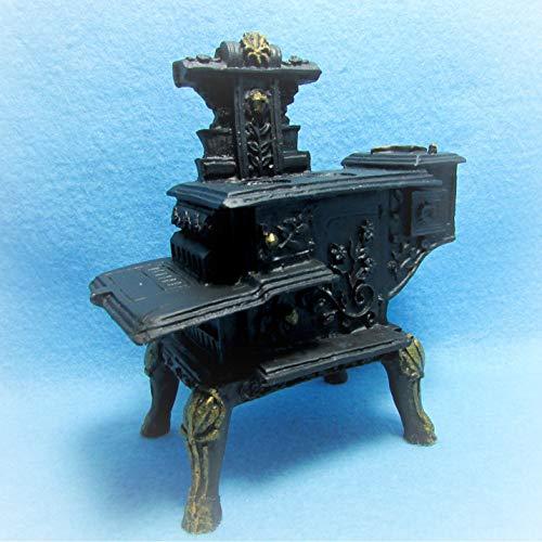 Antique Stove Miniature - Dollhouse Antique Kitchen Wood Stove KL2304 - Miniature Scene Supplies Your Fairy Garden - Doll House - Outdoor House Decor
