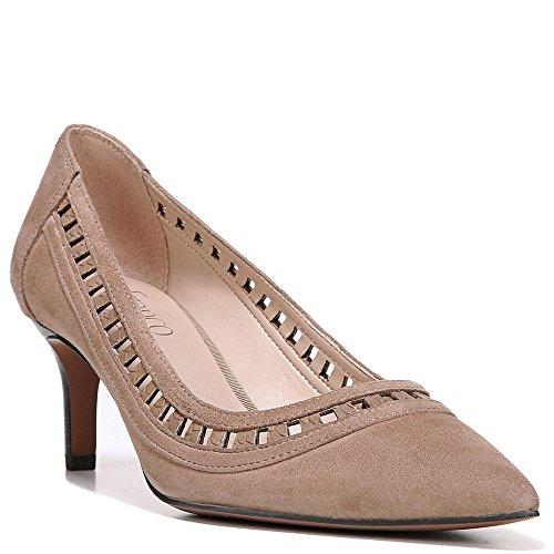 Sandalo In Pelle Scamosciata Color Sabbia Di Franco Sarto