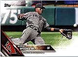2016 Topps Update #US240 Rickie Weeks Jr. Arizona Diamondbacks Baseball Card in Protective Screwdown Display Case