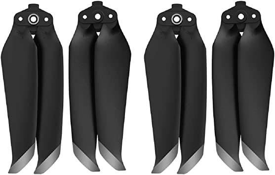 Opinión sobre GEEMEE para dji Mavic Air 2 Propeller Props Blades, Hélices Ligeras de bajo Ruido Accesorios para Accesorios Mavic Air 2 -Plata Negro