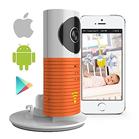 SEGMOI (TM) Smart Baby Monitor con P2P Night Vision Video Record, sistema de vigilancia Cámara de seguridad Compatible con iPhone y Android.