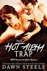 The Hot Alpha Trap: A BBW Paranormal Shifter Romance (The Hot Alpha Switch Book 3) (English Edition)