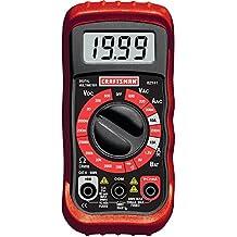 Craftsman Digital Multimeter AC DC 34-82141 Volt Test Ohmeter Electric